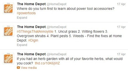 How @HomeDepot Successfully Hammers Out Social Media Marketing | MarketingHits | Scoop.it