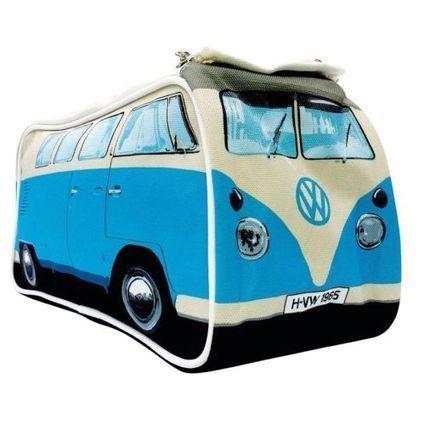 VW Camper Van Toiletry Bag - Volkswagen Blue Health Makeup Travel Cosmetic | VW Camper Vans | Scoop.it