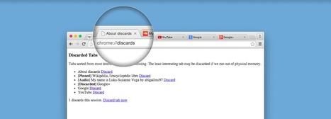 Chrome mettra bientôt vos onglets les moins intéressants en pause | Geeks | Scoop.it