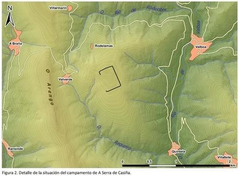 Arqueólogos descubren un nuevo campamento militar romano en Balboa (El Bierzo, León) | Centro de Estudios Artísticos Elba | Scoop.it
