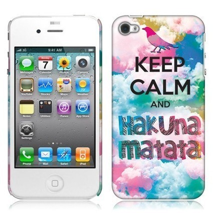 Buy a Apple iPhone 4 iPhone 4S Back Cover Case - Keep Calm Hakuna Matata Shipped Free | What is the best Accessories for Cell Phone, tablet and MP3 | Scoop.it