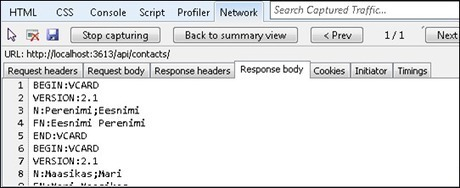ASP.NET Web API: Extending content negotiation with new formats   .Net Web Development   Scoop.it
