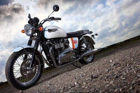 Triumph Bonneville //by Tag Heuer   Triumph Classic   Scoop.it