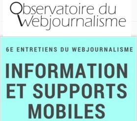 Le journalisme mobile réinvente la proximité de l'information | DocPresseESJ | Scoop.it