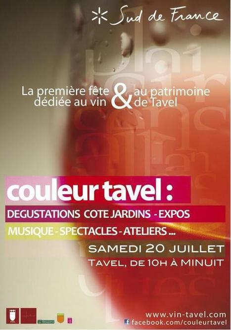 Twitter / CherieDuVin: Couleur Tavel - Rose! Rose! ... | Chérie Du Vin♥ - Weekly Wine Gossip  *News*Tips*Pairings | Scoop.it