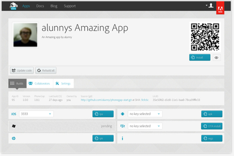 Adobe Reintroduces PhoneGap, Expanding Mobile App Options - ReadWriteWeb | Mobile (Post-PC) in Higher Education | Scoop.it