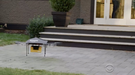 Amazon wants to test new 50 mph drones in its own backyard | Civil Drones Applications, Usage | Scoop.it