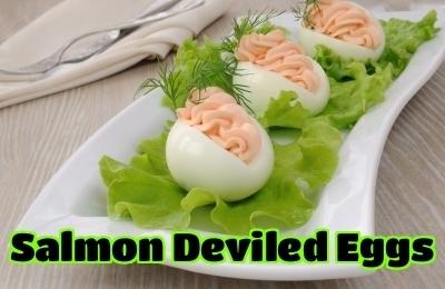 Creamy Salmon Pate Stuffed Eggs | Best Easy Recipes | Scoop.it