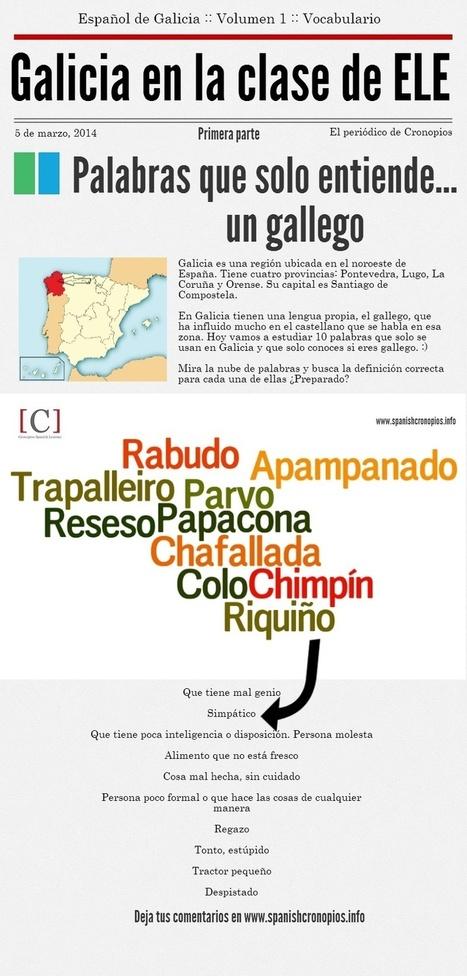 10 palabras que solo entiendes si eres gallego|Primera parte | ELE Spanish as a second language | Scoop.it