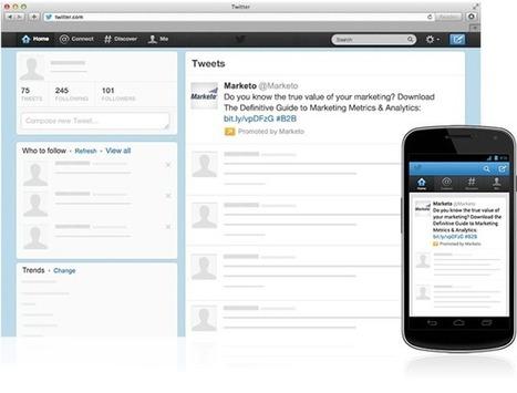 Tweets sponsorisés | Twitter for Business | Twitter for business | Scoop.it