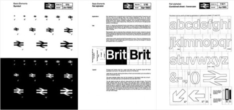 British Rail Identity | The Ministry of Type | Information graphics | Scoop.it