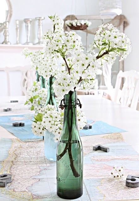 French Larkspur: Pear Blossoms and a Winner | Vintage Whatever | Scoop.it