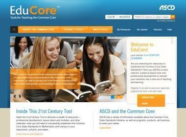 EduCore – Common Core Resources from ASCD - The Teachers ... | Catherine's Scoops | Scoop.it