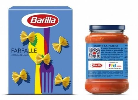 Barilla lancia l'etichetta smart, tra Storytelling e tracciabilità | ■Marketing Creativo - ADV - Campaign | Scoop.it