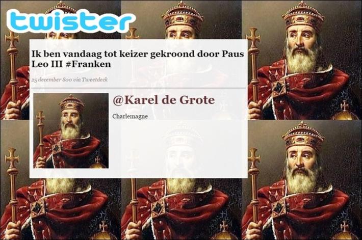 Edu-Curator: Laat leerlingen een nep 'tweet' maken van een historische figuur met Twister | Educatief Internet - Gespot op 't Web | Scoop.it