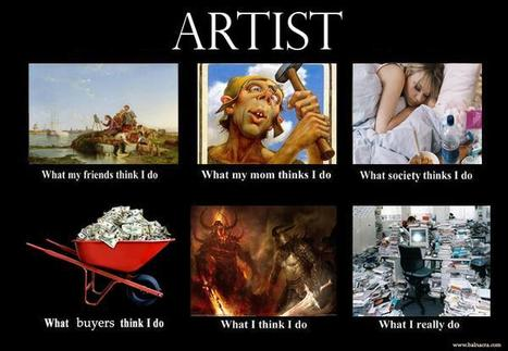 Artist | What I really do | Scoop.it
