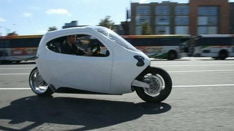 BBC News - It will take a 'baby elephant' to knock over this bike | leapmind | Scoop.it