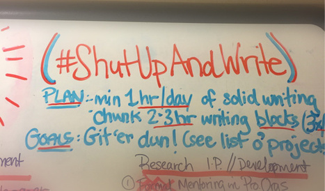 Developing Writing Habits with #AcWriMo   AcWriMo   Scoop.it