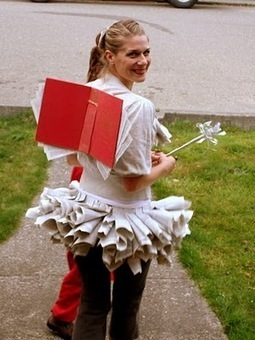 A diction-fairy!: Book Fairy Costume | Fun in the School Library | Scoop.it