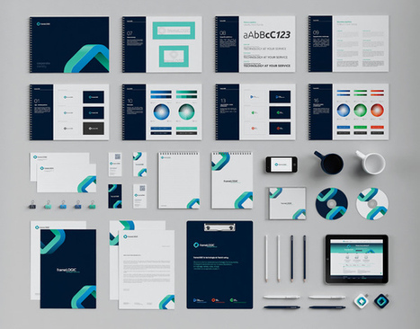 Inspirational Examples of Brand Presentation | timms brand design | Scoop.it