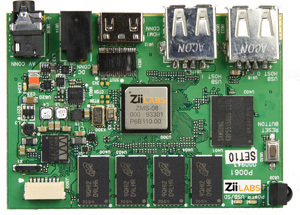 Ziilabs ZMS-05 and ZMS-08 SDK and Development Boards   Embedded Systems News   Scoop.it