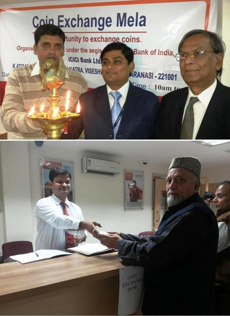 ICICI Bank Organises Coin Exchange Mela in Varanasi, Uttar Pradesh | ICICI | Scoop.it
