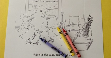 Printable Spanish Story and Coloring Book with Activities – Los Pollitos | Preschool Spanish | Scoop.it