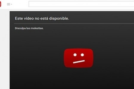 "Truco para que veas los videos ""no disponibles"" de YouTube 
