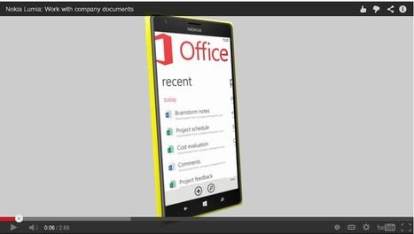 VIDEO: Sharepoint/Office 365 functionality on Windows Phone 'demoed' | Cloud Central | Scoop.it