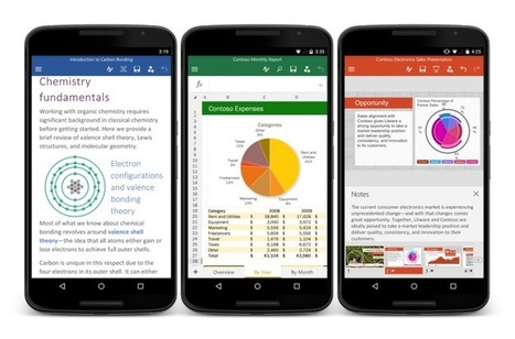 Microsoft Officially Launches Office For Android Phone | Future of Cloud Computing and IoT | Scoop.it