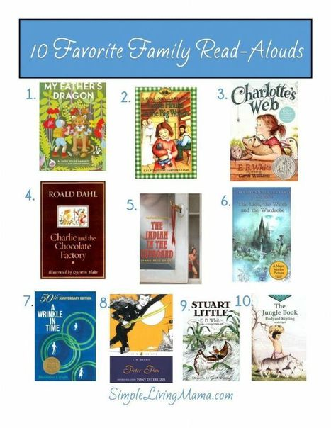 10 Family Read-Alouds | All things Elementary... Reading and Writing | Scoop.it