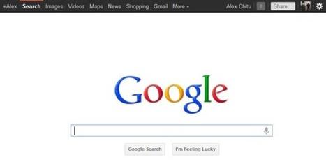Google's Black Navigation Bar Is Back   GooglePlus Expertise   Scoop.it