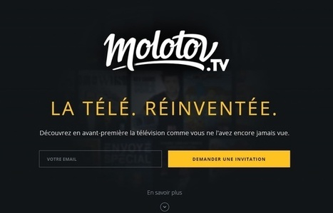 Molotov, le nouveau service qui pourrait tuer les box TV | Video content | Scoop.it