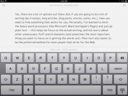 The Writing App Is Mightier Than The Sword -- AppAdvice | Edumathingy | Scoop.it