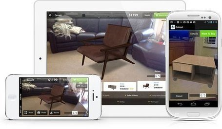 The Future of Furniture Shopping:  Augmented Reality Furnish App | Augmented Reality News and Trends | Scoop.it