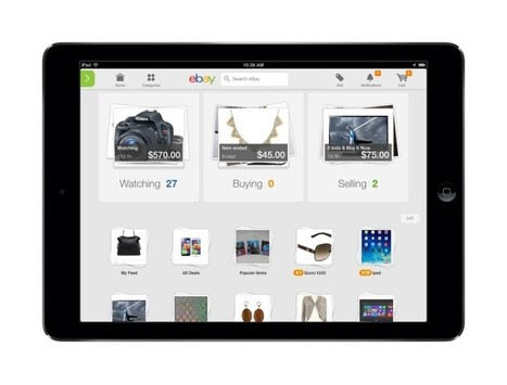 eBay Rolls Out New Mobile Apps Focused On Discovery And Personalized Experiences   TechCrunch   Mobile Related Content   Scoop.it