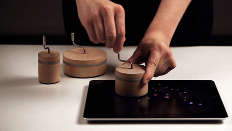 Wooden Crank Turns The iPad Into A Magical Music Box | Interactive Inspiration | Scoop.it