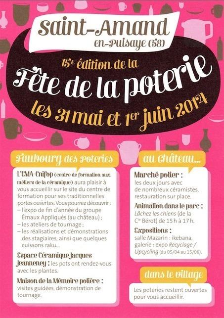 Fête de la poterie - Saint-Amand-en-Puisaye (Nièvre) 2014 | Charny et la Puisaye-Forterre | Scoop.it