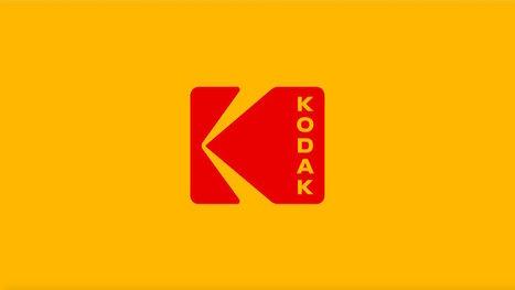 Kodak mise sur le passé en reprenant son logo historique | Visual Strategy | Scoop.it