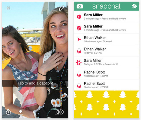 Enterprise Snapchat and other tools to keep data locked down | Sports, America | Scoop.it