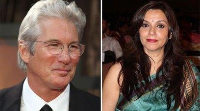 Richard Gere, Lilette Dubey Shoot Romantic Scenes In Udaipur – Entertainment News | Entertainment | Scoop.it