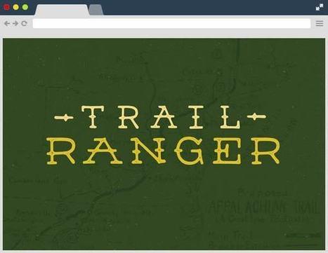 Trail Ranger Free Font Family | Designrazzi | Bazaar | Scoop.it