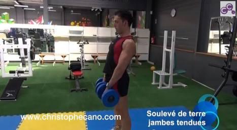 SOULEVÉ DE TERRE JAMBES TENDUES. Transformez le bas de votre corps, musclez vos #ISCHIO-JAMBIERS et vos #FESSIERS simultanément en réalisant L'#EXERCICE DE LA SEMAINE. A découvrir sur mon #BLOG. Bo... | Training - Entraînement | Scoop.it