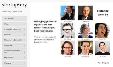 Content Curation at Work: Startupery - A Library of Startup Best-Practices Curated by True Subject Matter Experts | Content Curation World | Scoop.it