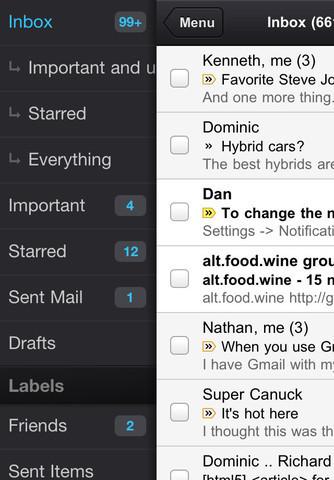 L'application Gmail pour iPhone et iPad est de retour | mlearn | Scoop.it