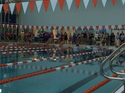 More excitement from the natatorium ribbon cutting as the swim team tries out th... | Platte County High School | Scoop.it