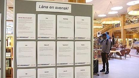 Bibliothèque vivante et migrant-es : comment faire ? L'exemple suédois | Bibliothèques et social | Scoop.it