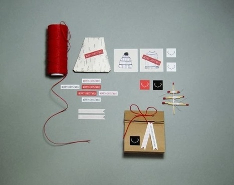 Christmas Gift Packaging and Tag Designs | The Graphic Design Inspiration | Scoop.it