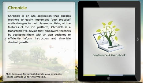 Chronicle - Conference and Gradebook | Educational Technology, E-Learning & Pedagogy | Scoop.it