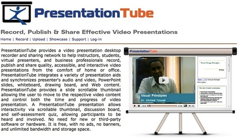 PresentationTube - a Video Presentation Recorder | Teaching in the XXI Century | Scoop.it